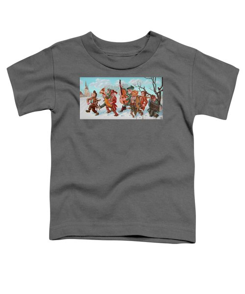 Walking Musicians Toddler T-Shirt