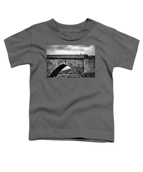 Walking On The Roman Bridge Toddler T-Shirt