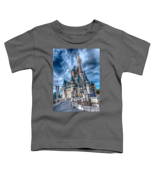 Walkway To Cinderellas Castle Toddler T-Shirt