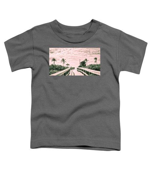 Walkway To The Beach Toddler T-Shirt