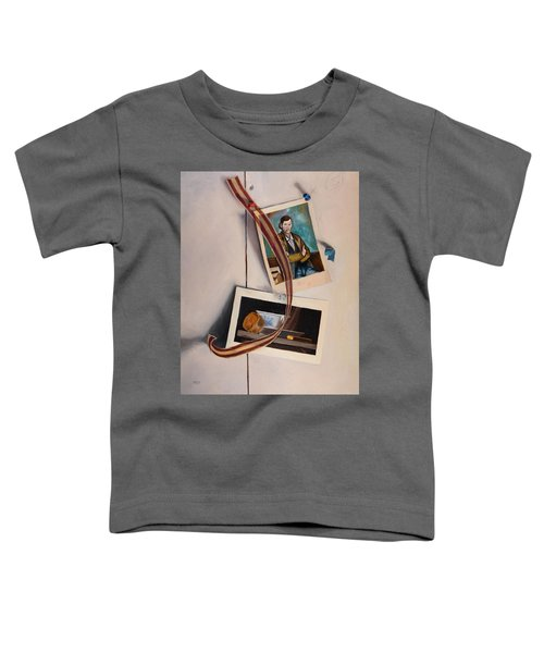 Wall Study Toddler T-Shirt