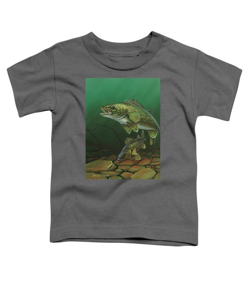 Walleye Toddler T-Shirt
