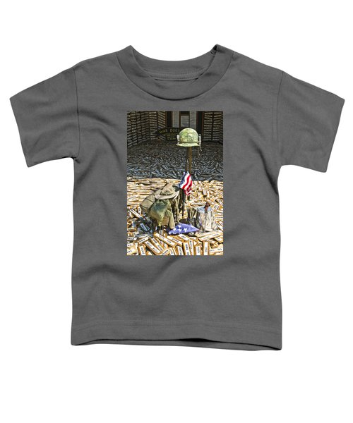 War Dogs Sacrifice Toddler T-Shirt