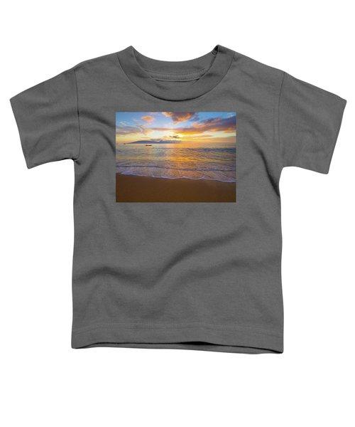 Warm Ka'anapali Sunset Toddler T-Shirt
