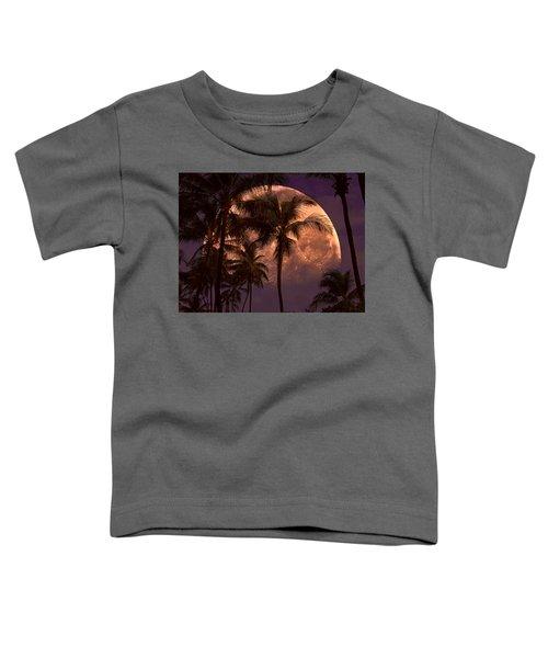 Warm Tropical Nights Toddler T-Shirt