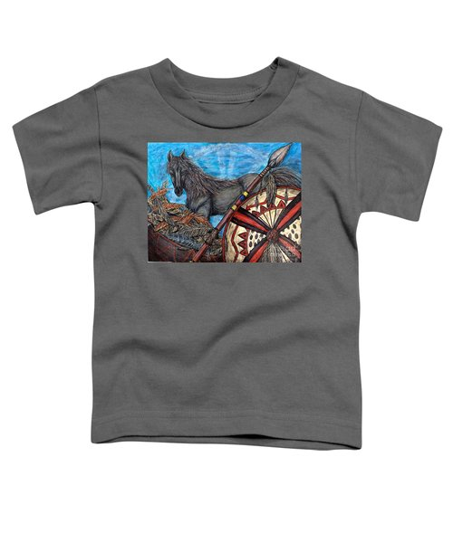 Warrior Spirit Toddler T-Shirt