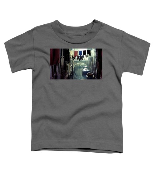 Washday In Venice Italy Toddler T-Shirt
