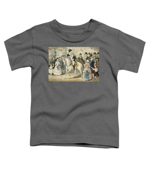 Washington Entering New York On The Evacuation Of The City By The British On Nov 25th 1783 Toddler T-Shirt