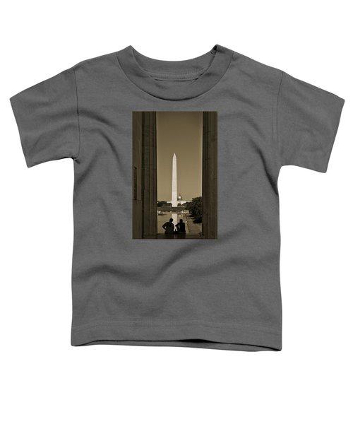 Washington Monument And Capitol #4 Toddler T-Shirt