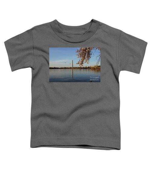Washington Monument Toddler T-Shirt by Megan Cohen