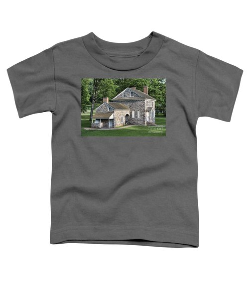Washington's Headquarters At Valley Forge Toddler T-Shirt