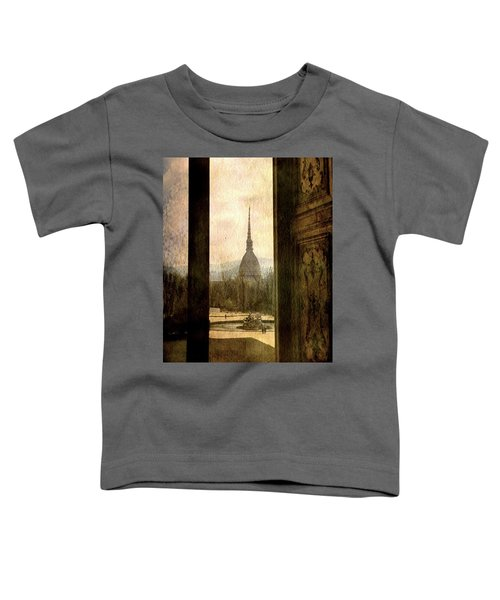 Watching Antonelliana Tower From The Window Toddler T-Shirt
