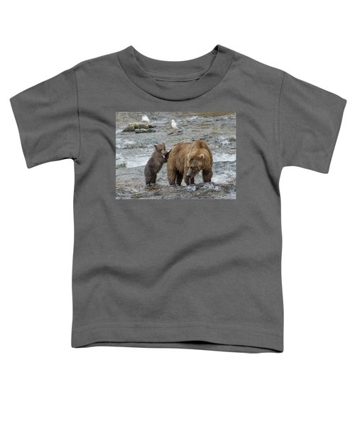 Watching For The Sockeye Salmon Toddler T-Shirt