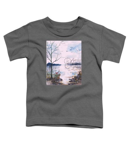 Watching The World Go Round Toddler T-Shirt