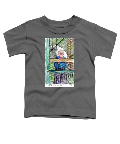 Watching To See If The Kids Are Coming Toddler T-Shirt