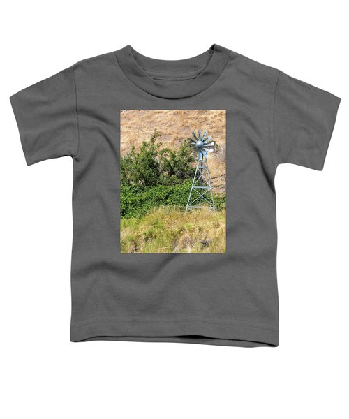 Water Aerating Windmill For Ponds And Lakes Toddler T-Shirt