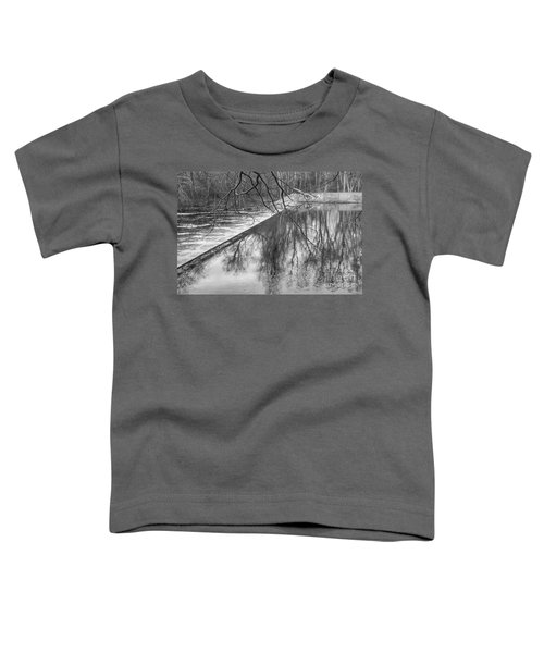 Water Flowing Over Dam In Wayne New Jersey Toddler T-Shirt