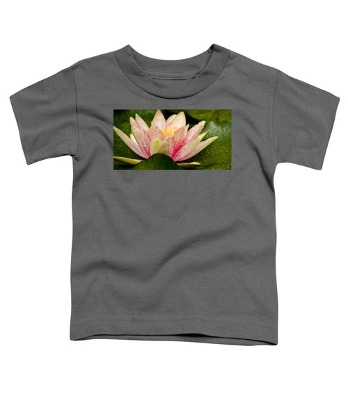Water Lilly At Eye Level Toddler T-Shirt