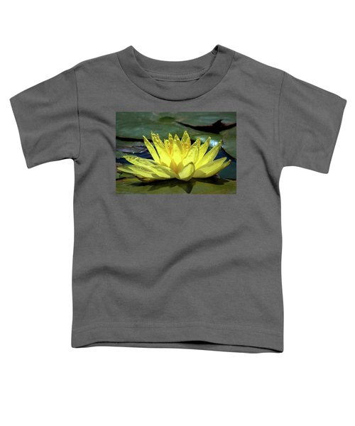 Toddler T-Shirt featuring the photograph Water Lily by Alison Frank