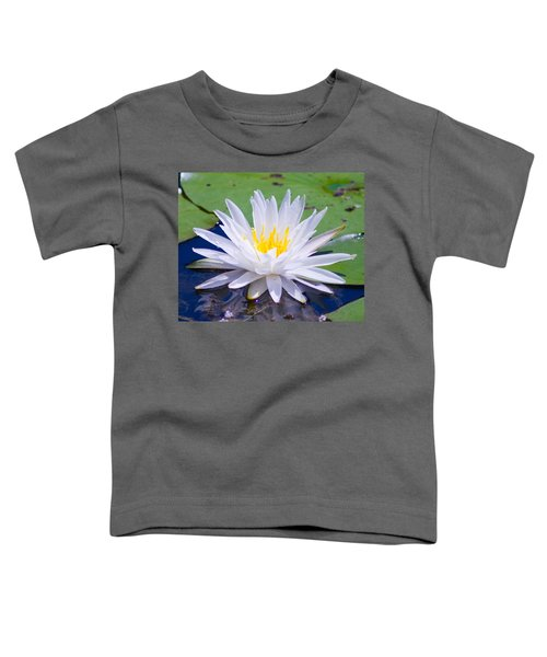 Toddler T-Shirt featuring the photograph Water Lily by Bill Barber
