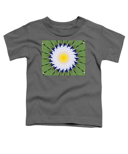 Toddler T-Shirt featuring the photograph Water Lily Kaleidoscope by Bill Barber