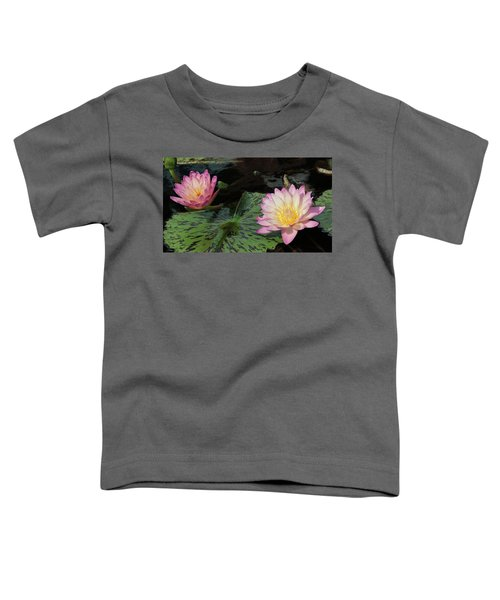 Water Lily Pair Toddler T-Shirt