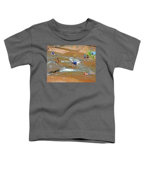 Water Play 3 Toddler T-Shirt