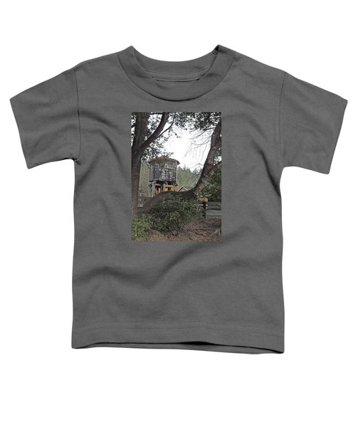 Water Tower @ Roaring Camp Toddler T-Shirt