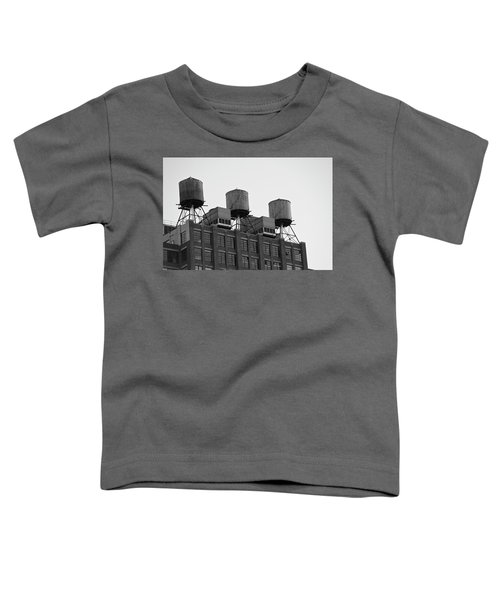 Water Towers Toddler T-Shirt