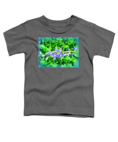 Watercolor Blooms Toddler T-Shirt