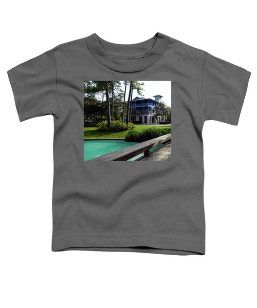 Watercolor Florida Toddler T-Shirt by Megan Cohen