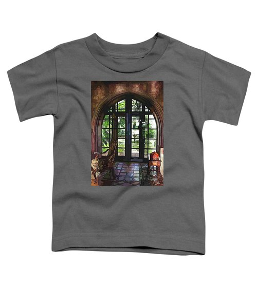 Watercolor View To The Past Toddler T-Shirt