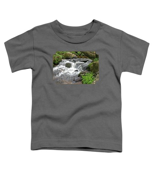 Waterfall At Hexworthy Dartmoor Toddler T-Shirt