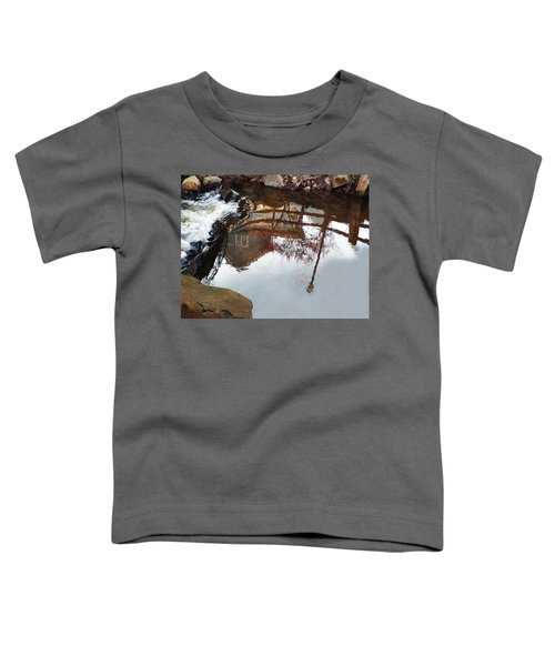 Waterfall From Calm Waters Toddler T-Shirt