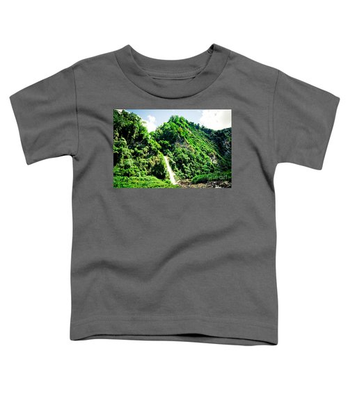 waterfall Himalayas mountains NEPAL Toddler T-Shirt
