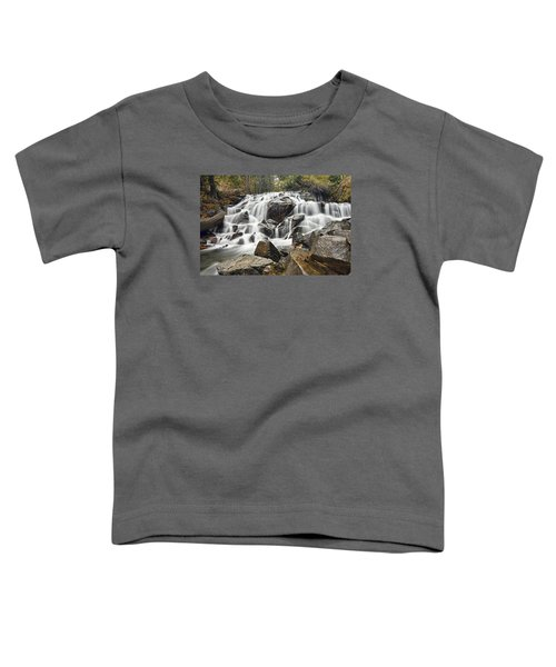 Waterfall In Lee Vining Canyon Toddler T-Shirt