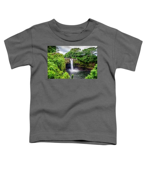 Waterfall Into The Valley Toddler T-Shirt