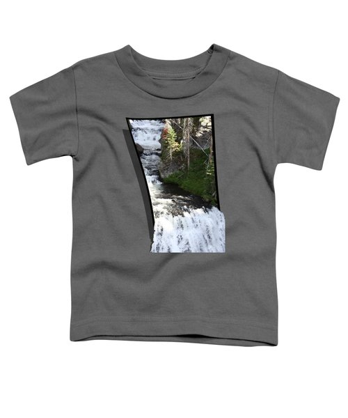 Waterfall Toddler T-Shirt by Shane Bechler
