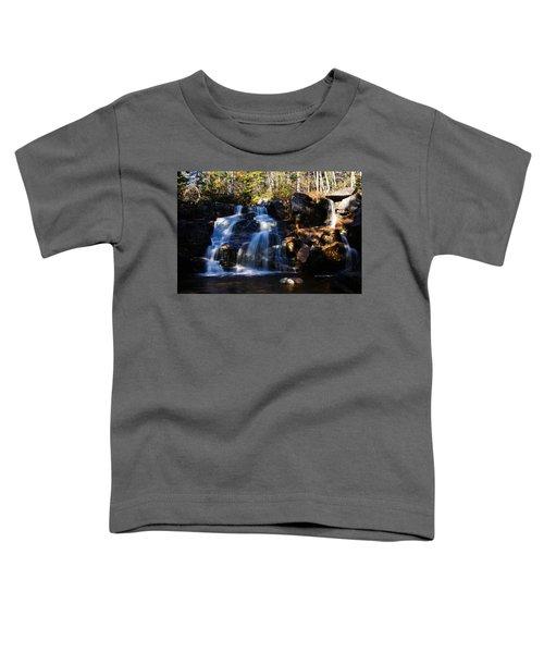 Waterfall, Whitewall Brook Toddler T-Shirt