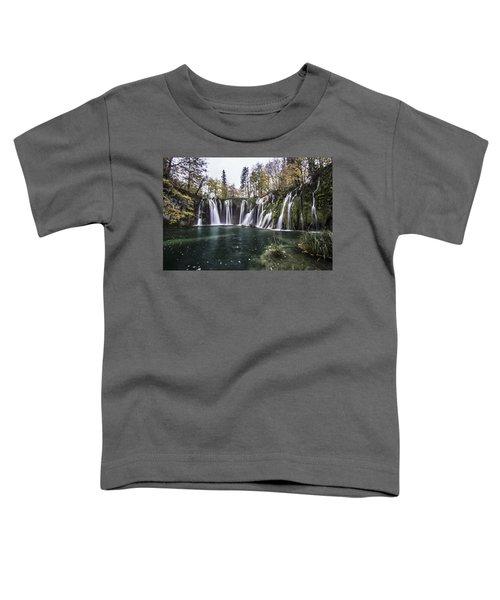 Waterfalls In Croatia Toddler T-Shirt