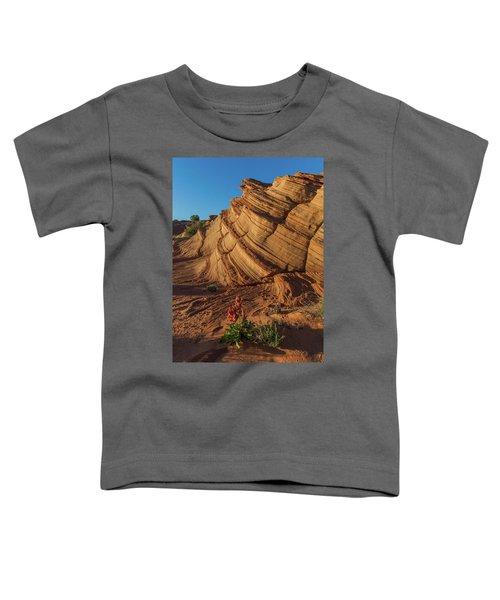 Waterhole Canyon Evening Solitude Toddler T-Shirt