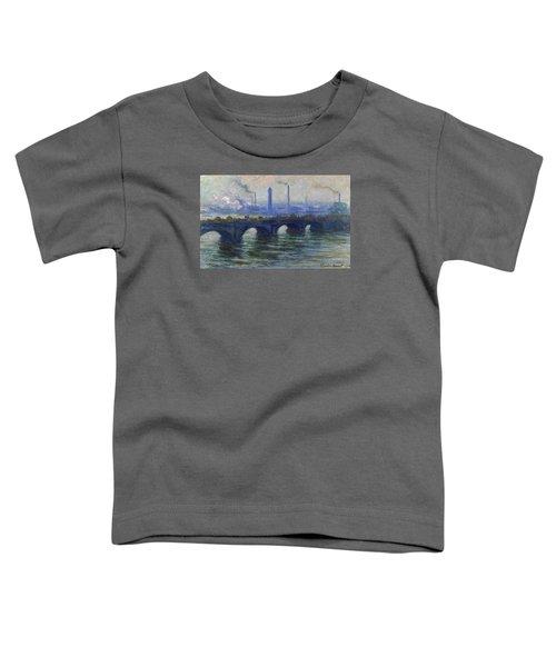 Waterloo Bridge, London, 1900 Toddler T-Shirt