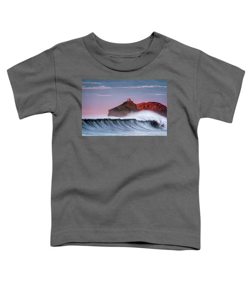 Wave In Bakio Toddler T-Shirt