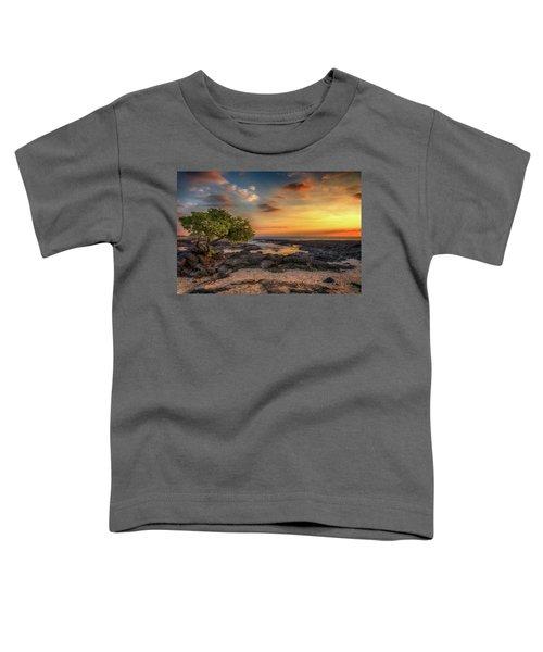 Wawaloli Beach Sunset Toddler T-Shirt
