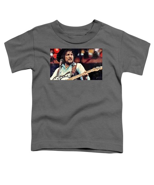 Toddler T-Shirt featuring the digital art Waylon by Susan Kinney