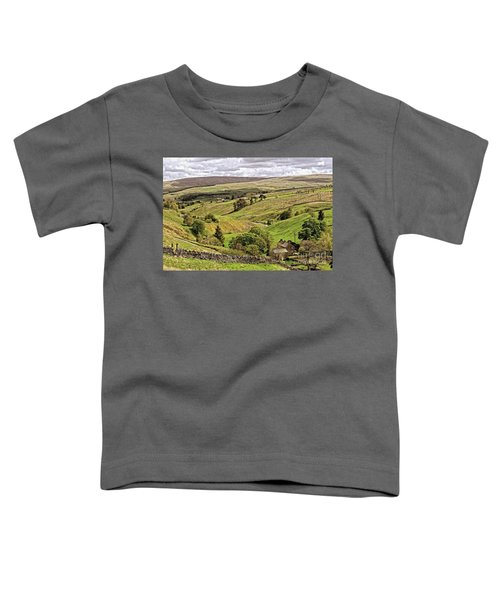 Weardale Landscape Toddler T-Shirt