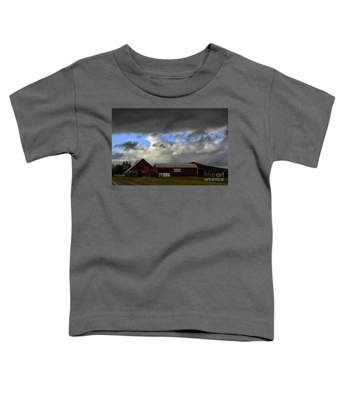 Weather Threatening The Farm Toddler T-Shirt