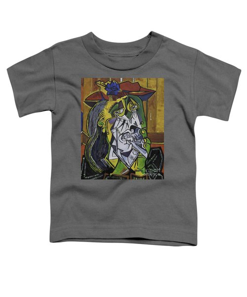 Picasso's Weeping Woman Toddler T-Shirt