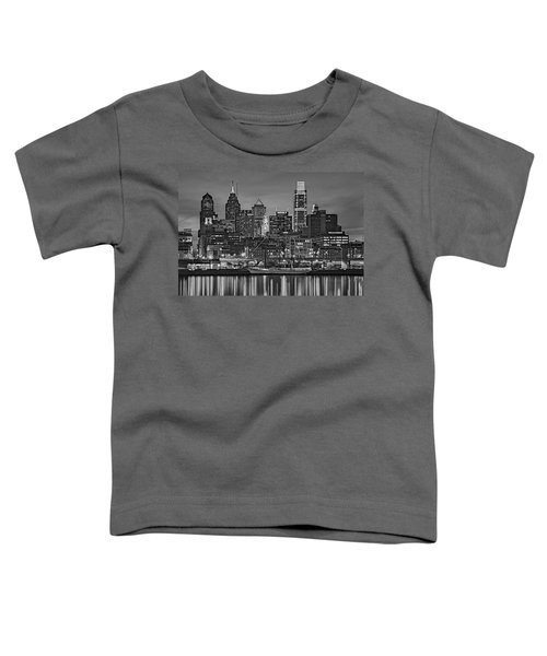 Welcome To Penn's Landing Bw Toddler T-Shirt