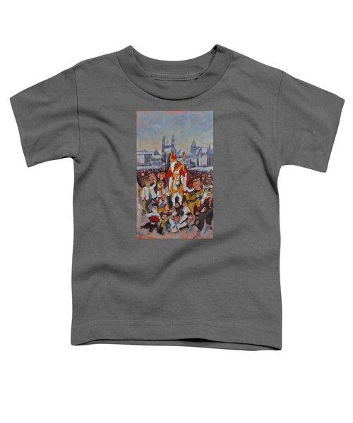 Welcoming Saint Nicolas In Maastricht Toddler T-Shirt by Nop Briex